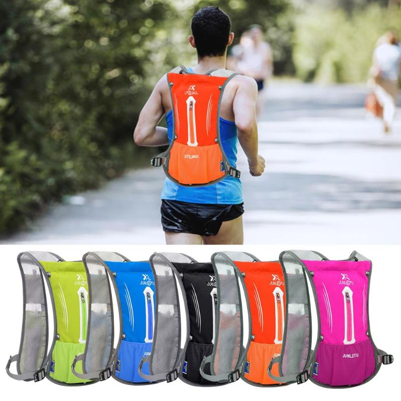 Running Trail Backpack Marathon Backpack 2L Hydration Vest Outsourcing Sports Bag Cycling Water Bag Running Backpack