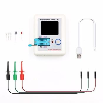 LCR-TC1 3 5 cal kolorowy wyświetlacz wielofunkcyjny TFT podświetlenie tester próbnik elektroniczny tanie i dobre opinie FNIRSI Elektryczne as the description 0-40 ℃ Cyfrowy wyświetlacz