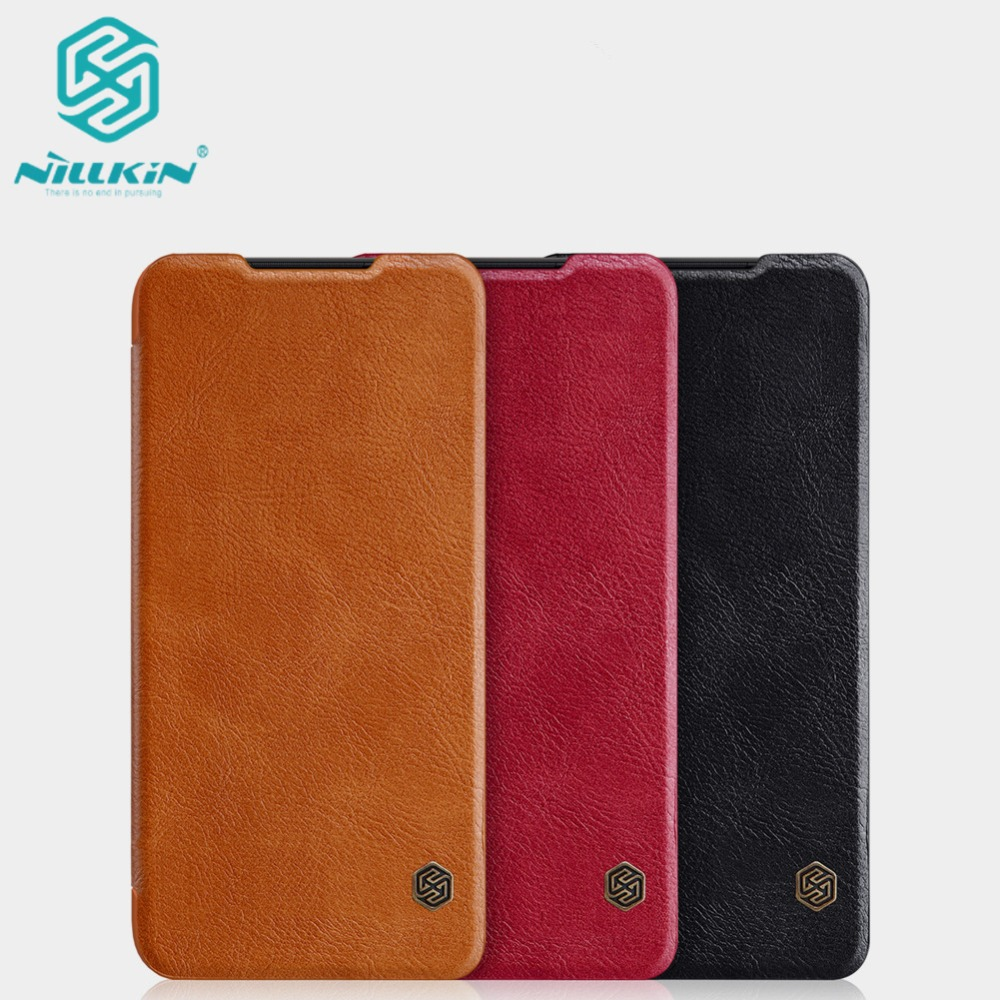 10pcs Wholesale NILLKIN Qin Series Wallet Flip Leather Case for Xiaomi Redmi 7/7 pro Redmi 7 global Genuine Flip Leather Case-in Flip Cases from Cellphones & Telecommunications    1