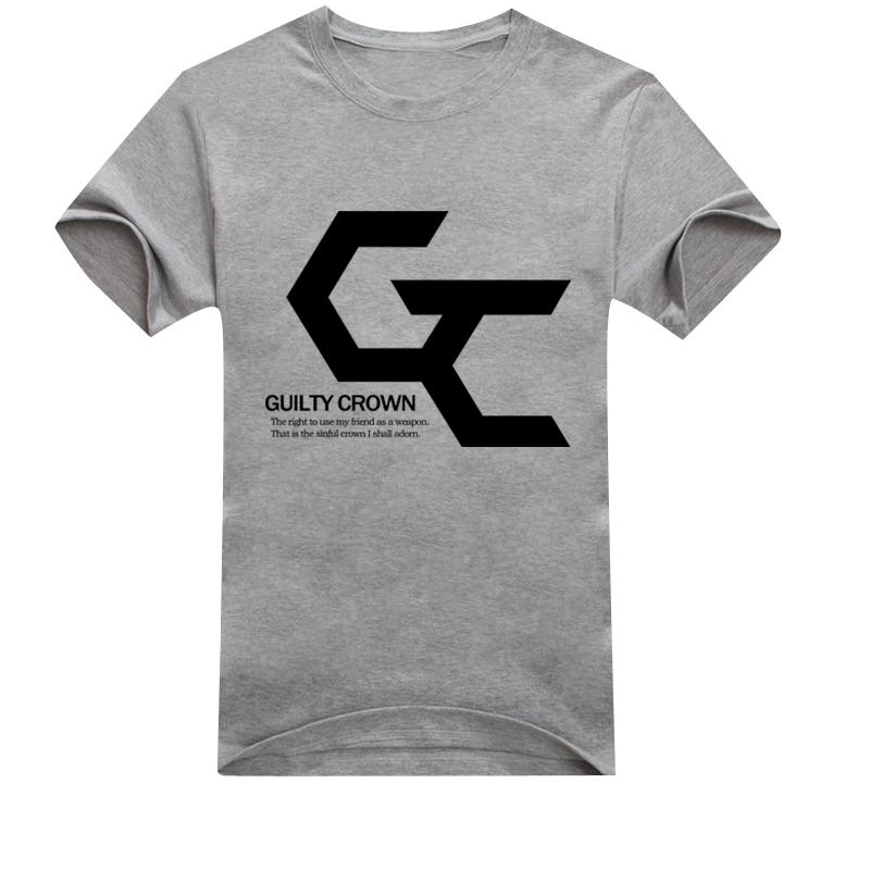 High-Q Unisex <font><b>Guilty</b></font> <font><b>Crown</b></font> GC T-Shirt <font><b>tshirt</b></font> tees Cartoon <font><b>Guilty</b></font> <font><b>Crown</b></font> GC breathable loose t-shirt <font><b>tshirt</b></font> tees image