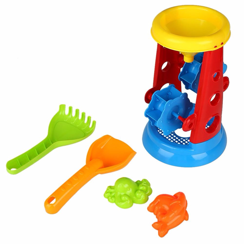 Funny Summer Outdoor Beach Toys Sand Play Set 2018 Hot Sale Children Kids Seaside Game Educational Toy Gifts Beach Toys For Kids