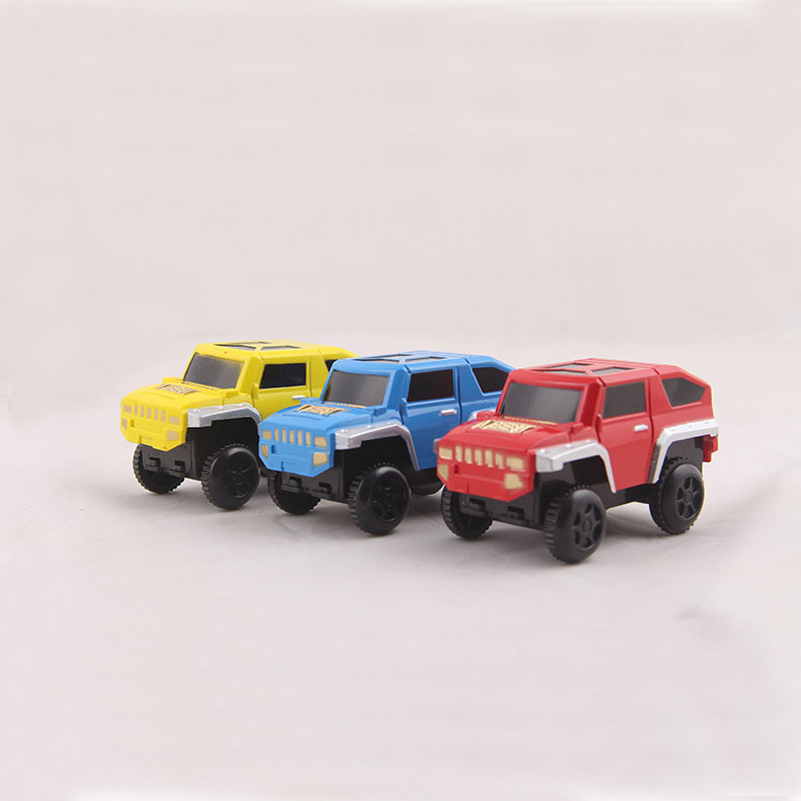 Track Toy Car Accessories Mini Electric Car Model Diecasts Toy