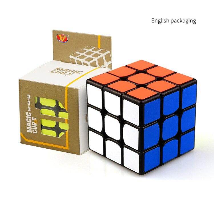Классический магия Скорость 3x3x3 блок головоломки Скорость английский красочные обучения детей развивающие игрушки Puzzle Magic