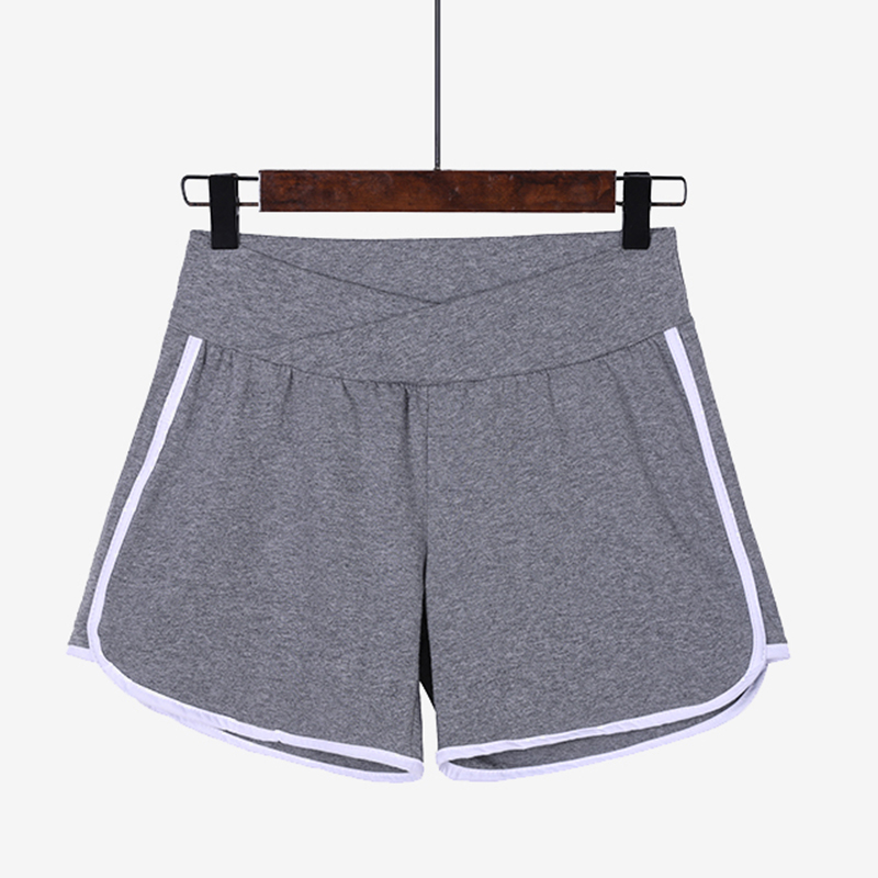 062# Summer Hot Maternity   Shorts   Low Waist Belly Thin Cotton   Shorts   Clothes for Pregnant Women Pregnancy Casual Sports Wear
