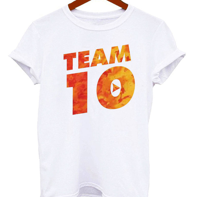 4704c4d5 Jake Paul t shirt women harajuku tshirt Funny Punk Clothes Tee Shirt femme  Women I LOVE music clothing female top