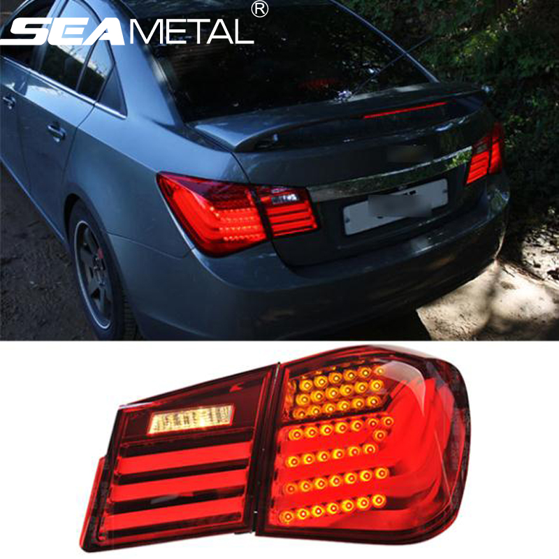 Car Tail Light For Chevrolet Cruze 2009 2010 2011 2012 2013 2014 Kit modification Taillights Rear Lights Car Lamp Auto Styling автомобильный dvd плеер oem dvd chevrolet cruze 2008 2009 2010 2011 gps bluetooth bt tv