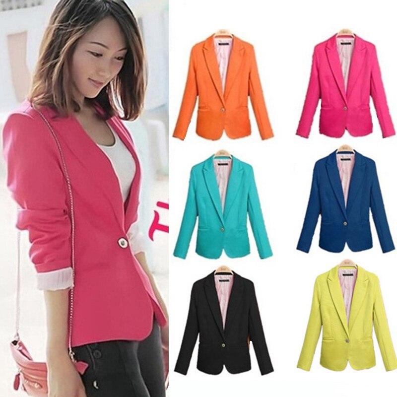 98f0690dcc53 De moda, Chaqueta de las mujeres Chaqueta Marynarka listonoszka Blazer  negro Rosa abrigo ropa de