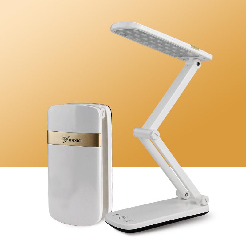 YAGE YG-5924 led desk lamp table light Book reading Night light led desk lamps flexo flexible lamp rechargeable table light usb led night light folding pages book light creative usb port rechargeable desk lamp wooden magnet cover home table light lamp