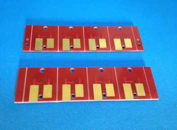 SS21 用の永久チップミマキ JV5 JV33 CJV30 JV130 JV160 JV260 プリンタ; 4 ピース/セット BK CMY