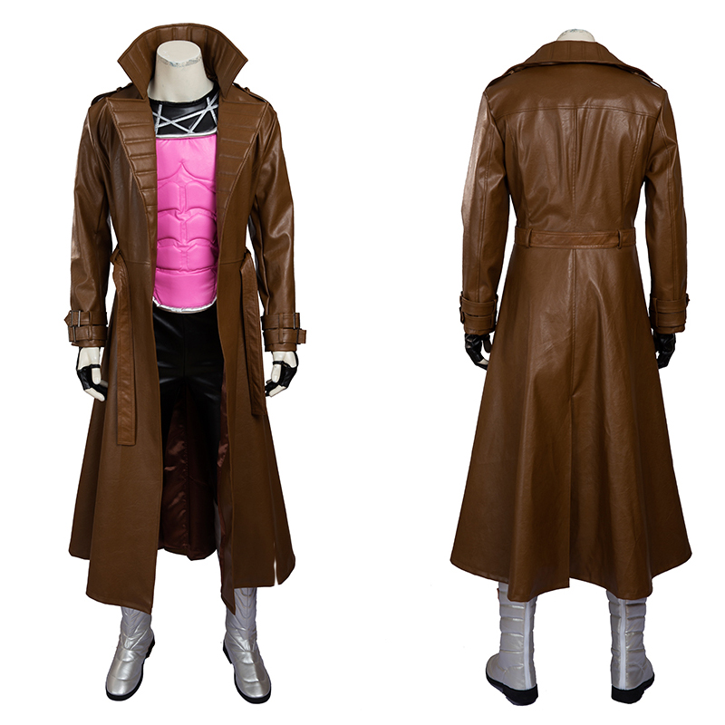 X Men Cosplay Costume Gambit Remy Etienne LeBeau Cosplay Costume Halloween Carnival Party Full Set Costume