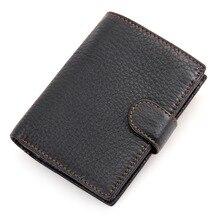 30c40fa6c0bd Пояса из натуральной кожи кошелек мужской кошельки карман для монет  держатель для карт, тонкий Бумажник