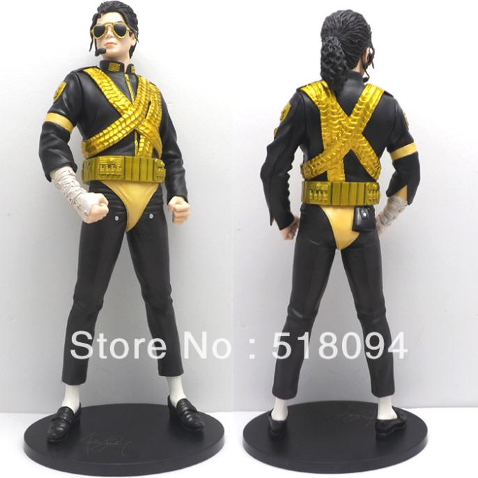 Free shipping High Quality Michael Jackson The King of Pop PVC Action Figure Collection Toy 12