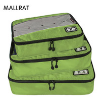 Banbuni Travel Bags For Suit 3 Pcs Set Men Women Packing Cubes For Clothes Lightweight Luggage