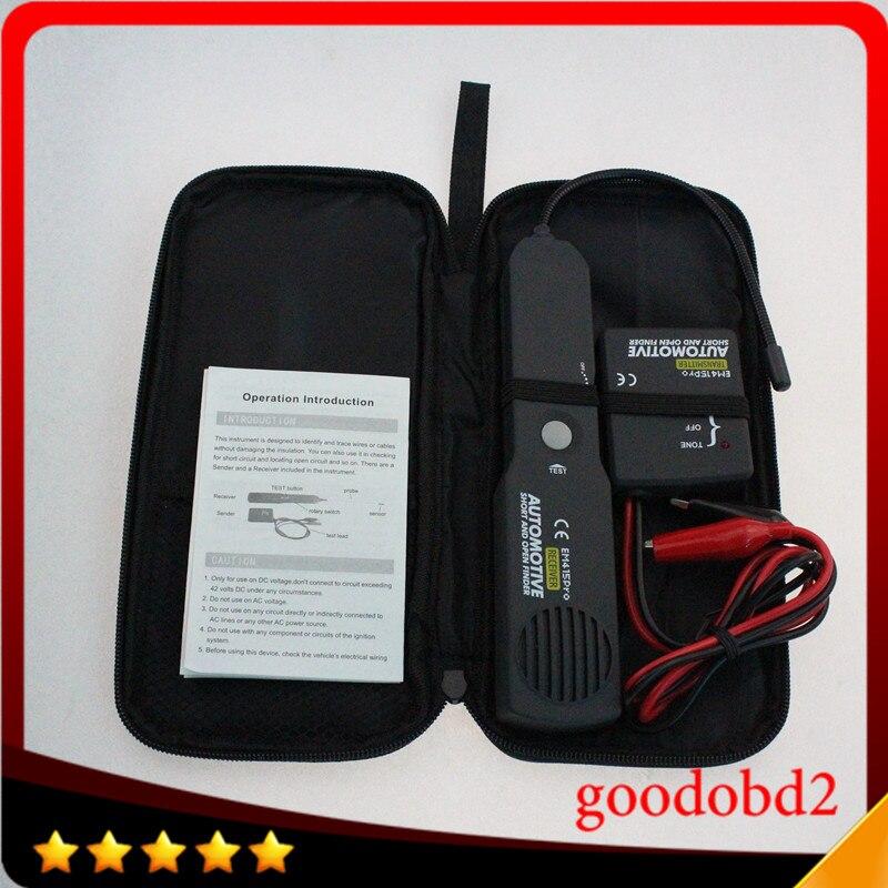Universel EM415PRO Automobile Câble Fil Tracker À Court et Open Circuit Finder Testeur De Voiture Véhicule De Réparation Détecteur Tracer 6-42 V DC