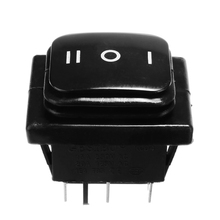 цена на 1PC 6 Pin 3 Position Rocker Toggle Switch 12V 12A ON-OFF-ON SPST Toggle Switch Universal for Car Boat Motorcycle