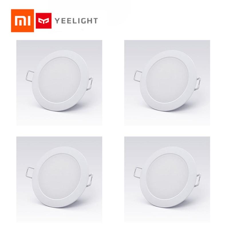 US $10 53 35% OFF|Wholesale Original Xiaomi Mijia Smart Downlight Wifi Work  with Mi home App Remote control White & Warm light Smart Change Light-in