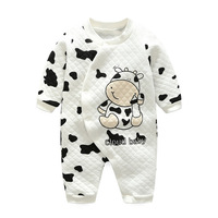 baby clothes Newborn Romper Boys Girls Rompers Cotton One-piece Cartoon Warm Winter Baby Clothes Animal Style Kids Clothing