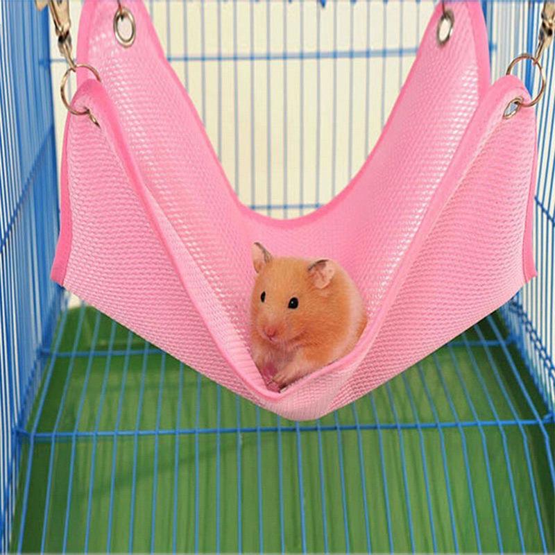 1pc Two Size Breathable Net Cloth Hamster Chinchilla ...
