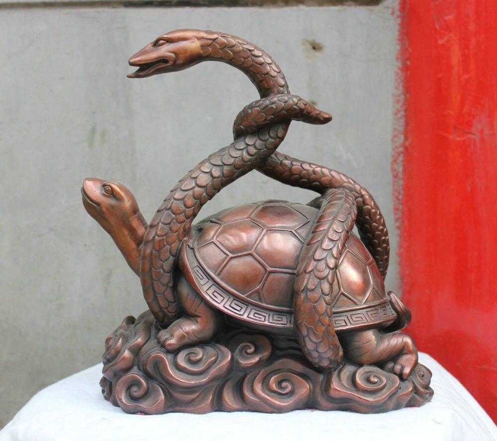 007944 Chinese Religion Taoism Folk HandMade Bronze statue Snake Turtle Wars statue007944 Chinese Religion Taoism Folk HandMade Bronze statue Snake Turtle Wars statue