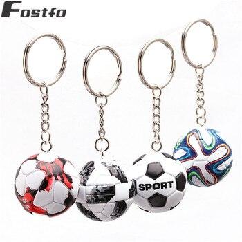 3D спортивные футбольные брелки сувениры из искусственной кожи брелок для мужчин футбольные фанаты брелок кулон подарки бойфренда