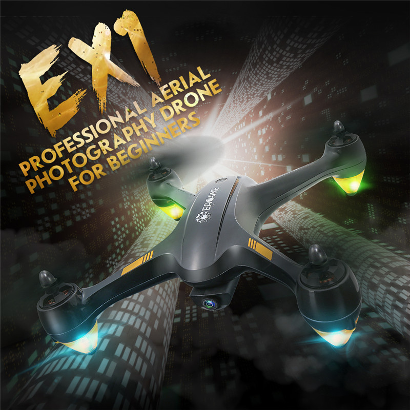 Eachine EX1 Brushless Double GPS WIFI FPV With 1080P HD Camera RC Drone Quadcopter RTF ex1 1f1j