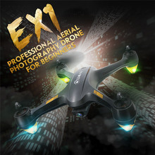New Arrival Eachine EX1 Brushless Double GPS WIFI FPV With 1080P HD Camera RC Drone Quadcopter RTF