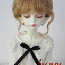 JD160 1/6 1/4 1/3 модные парики из мохера для кукол мягкий парик BJD Размер 6-7 дюймов 7-8 дюймов 8-9 дюймов, классика аксессуары для кукол