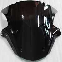 Free Shipping Brand New Motorcycle Windshield Windscreen For Kawasaki Ninja ZX10R 2011 2012 2013 2014 2015