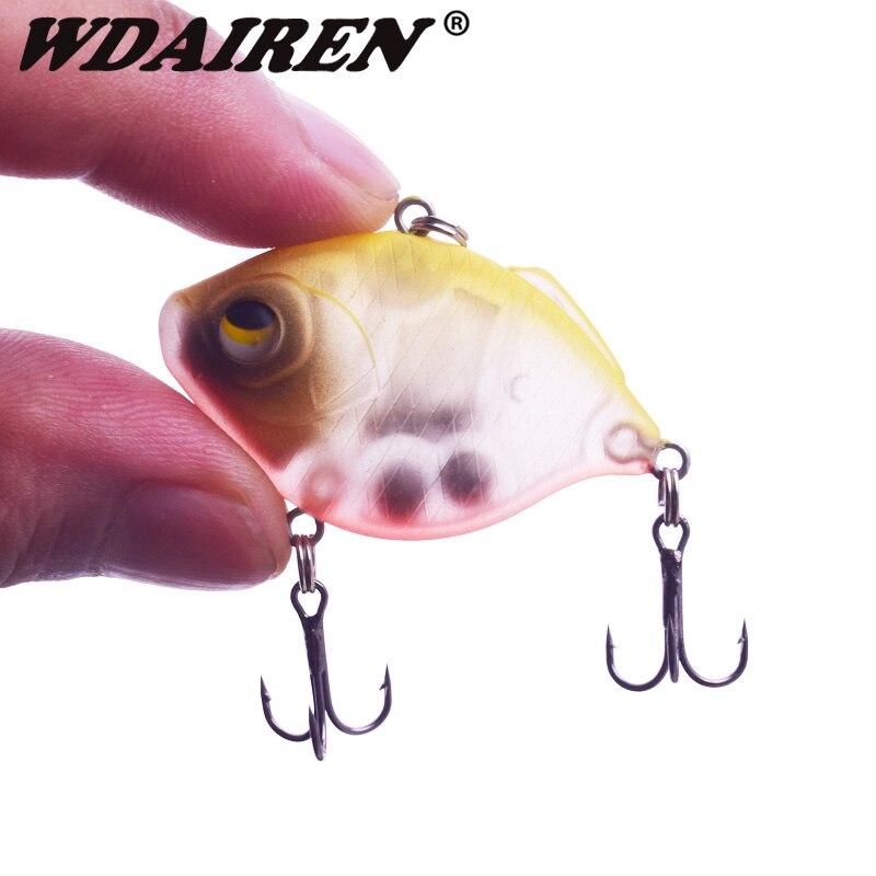 1Pcs Sinking Wobbler Fishing Lure 4.5cm 8.5g Winter Crankbait Japan Pesca Quality Professional Artificial VIB Hard Bait Tackle