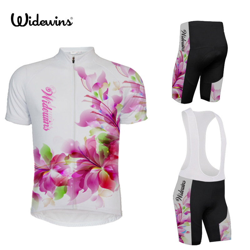 widewins Breathable women Pro Cycling Sets Summer Mtb Clothes Short Bicycle Jersey Clothing Ropa Maillot Ciclismo Bike Wear 5309