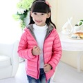 90% duck down girls' jacket fashion children ultra light  down coat children down & parkas candy color duck down jacket