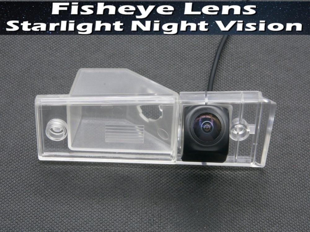 1080 P Sternenlicht MCCD Fisheye Auto Parkplatz rückansicht Kamera für KIA Sedona VQ (China) karneval R (Südkorea) 2006 ~ 2014