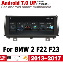 IPS Android For BMW 2 F22 F23 2013~2017 NBT Car HD screen radio GPS player Navigation WiFi Multimedia Player Auto Radio WiFi BT цена