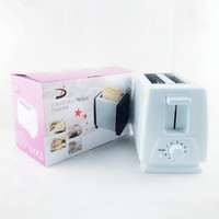 Household Multifunction Breakfast Machine Mini Automatic Two Slice Breakfast Grilled Cheese Sandwich Toaster Spit Driver