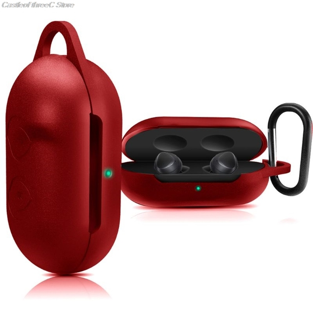 Clamshell Opening Anti shock Flexible Silicone Comprehensive Protective Case Full Cover For Samsung Galaxy Buds Sports Bluetooth