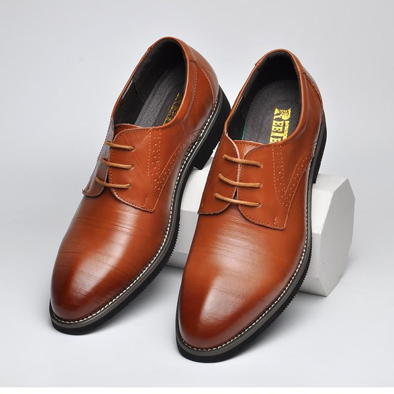100% γνήσια δερμάτινα παπούτσια Mens - Ανδρικά υποδήματα - Φωτογραφία 6