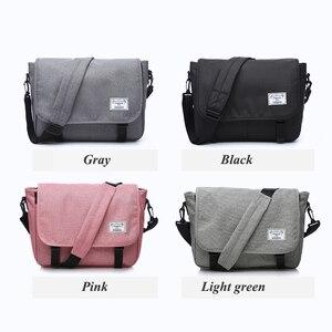 Image 4 - New 2019 Men Messenger Bags Mens Fashion Business Travel Shoulder Bags female Canvas Briefcase Men Crossbody Bag Unisex Handbag