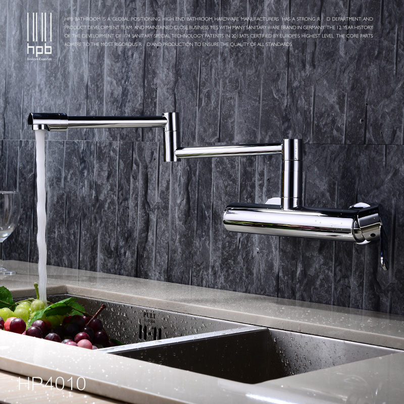 The whole copper free hot and cold kitchen faucet faucet wash basin faucet can rotate HP4010