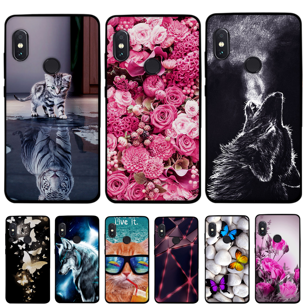 For Funda Xiaomi Redmi Note 5 Case Cover For Xiaomi Redmi Note 5 Pro Case Silicone Cute Soft Phone Case For Redmi Note 5 Cover