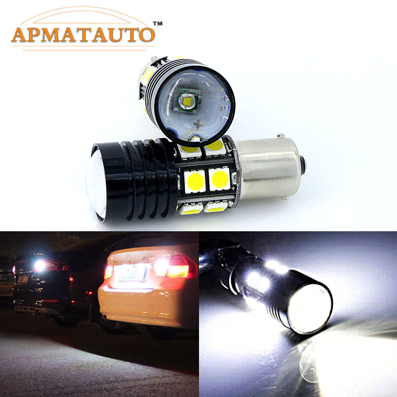 1156 Q5 Chips No Error Car LED Reverse Bulb Rear Light  For BMW 3/5 SERIES E30 E36 E46 E34 E39 E60 X3 X5 E53 E70 Z3 Z4 Etc