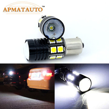 1156 Q5 Chips No Error Car LED Reverse Bulb Rear Light For BMW 3/5 SERIES E30 E36 E46 E34 E39 E60 X3 X5 E53 E70 Z3 Z4 Etc image