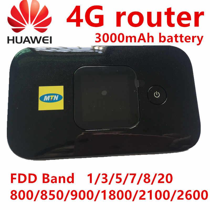 Débloqué Huawei E5577 4G routeur e5577s-321 Hotspot Mobile routeur sans fil wifi poche mini routeur wifi portable fente pour carte sim