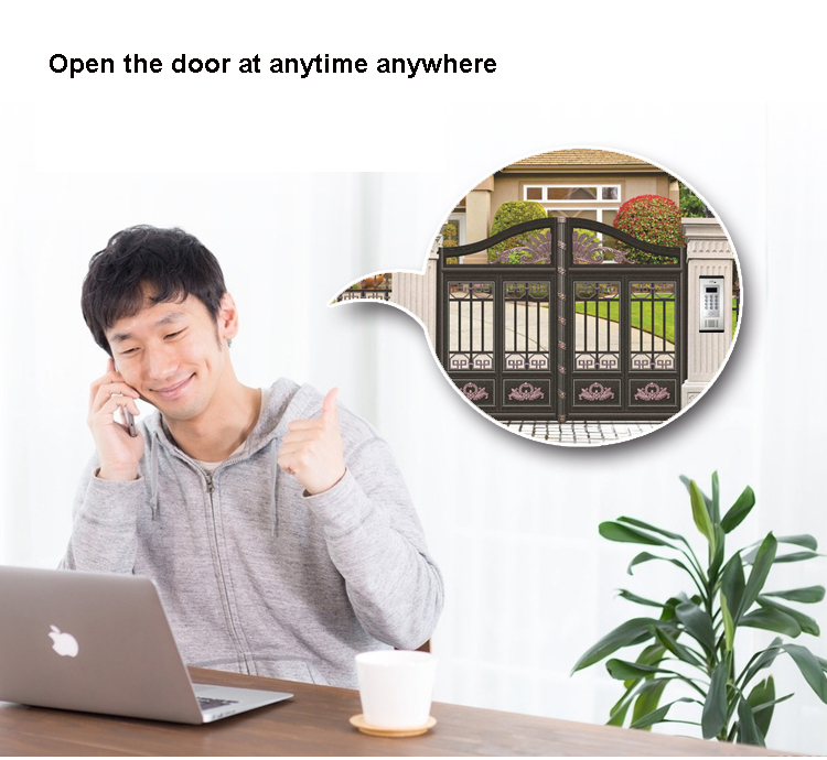 3G GSM Apartment Intercom Access Control System Support to Open Door by Phone Call RFID SMS Command Remote Control Gate Opener_F3