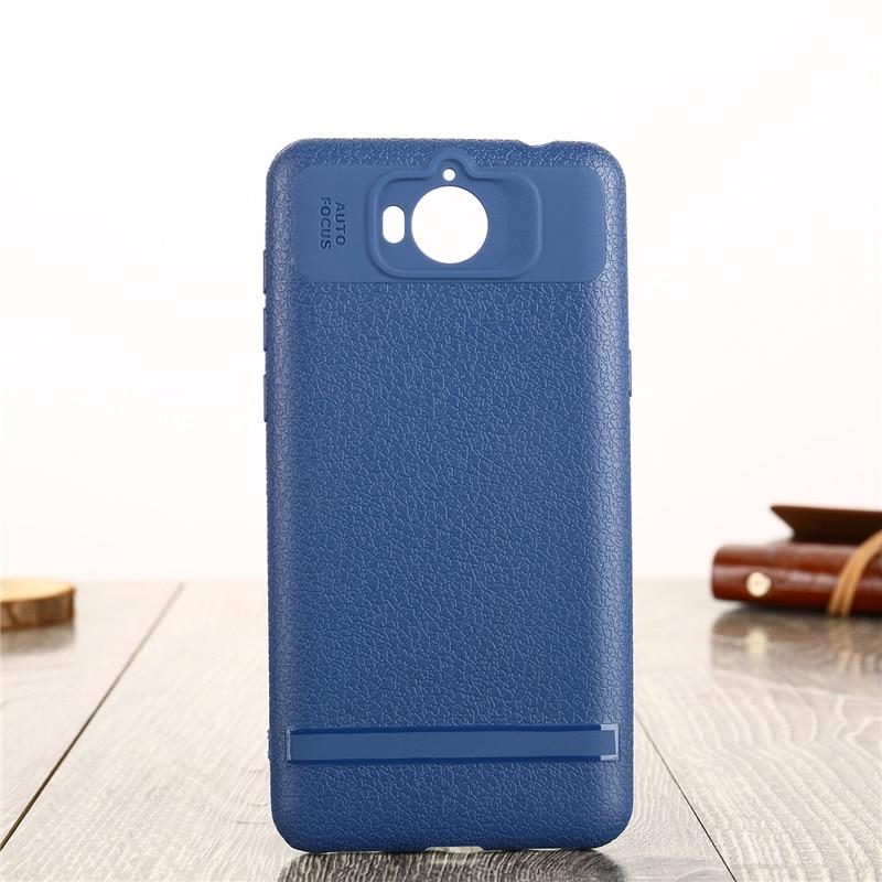 0687b23dfe4 LUOSHUYAN Dermatoglyph Case Voor Huawei Y5 2017 Gevallen Zachte Siliconen  ShockProof Telefoon Cover Luxe TPU Coque Voor Huawei Y6 2017