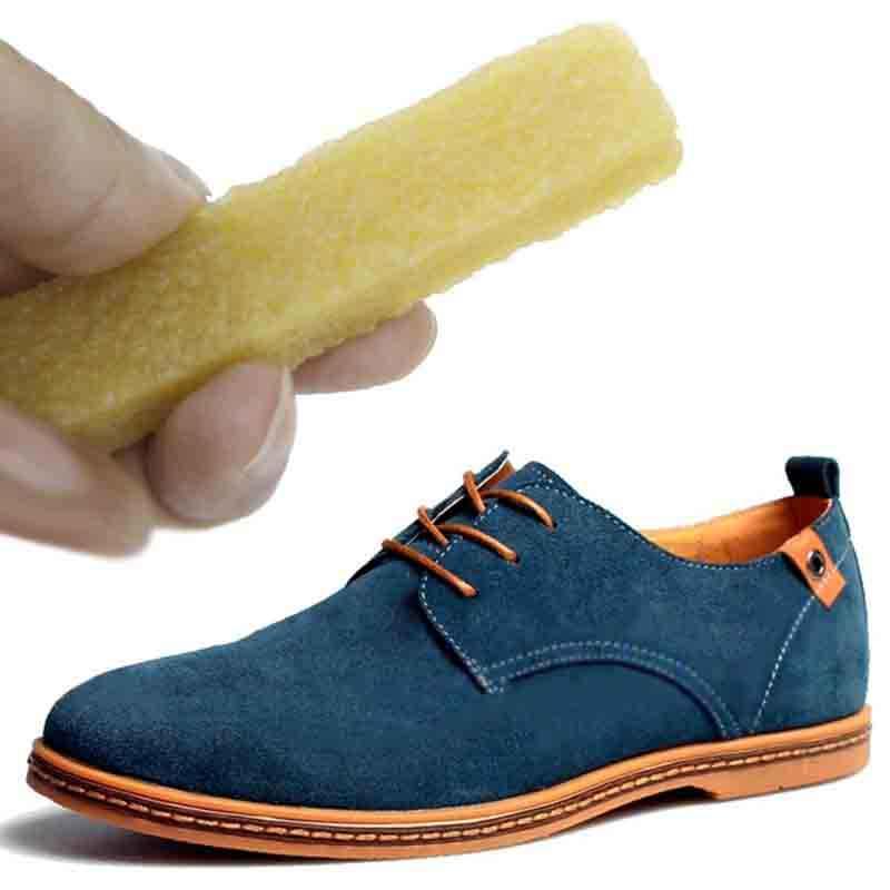 Sapatos de Borracha de Borracha para Mancha De Couro Camurça Nubuck Bota Calçados Cleaner Limpeza Novo