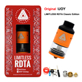 Original Ijoy LIMITLESS RDTA Classic Edition 6.9ml Innovative Side Fill tank 25MMwith pre-installed postless deck Atomizer