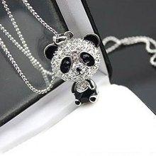 Panda Pendant Necklaces