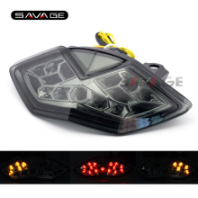 For KAWASAKI Z1000 10-13, Z1000SX 11-14, NINJA 1000 11-16 Motorcycle Integrated LED Tail Light Turn signal Blinker Lamp Smoke