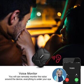 GPS Tracker Car Tracker 90 Day Standby Tkstar TK905 GPRS GPS Locator Waterproof Vehicle Tracker 2G Magnet Voice Monitor Free APP 4