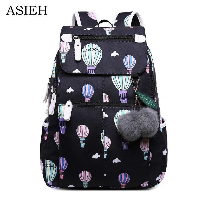 bcb5a35287fb Купить Школьные сумки для девочек подростков, непромокаемые рюкзаки для  ноутбука, модная школьная сумка, милый рюкзак для детей, школьная сумка  Цена Дешево